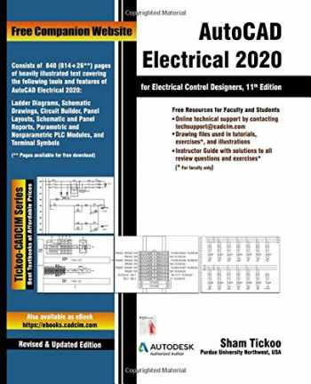 9781640570795-1640570799-AutoCAD Electrical 2020 for Electrical Control Designers, 11th Edition