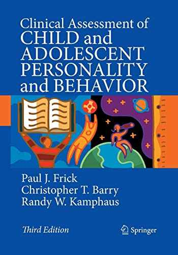 9781489977526-148997752X-Clinical Assessment of Child and Adolescent Personality and Behavior