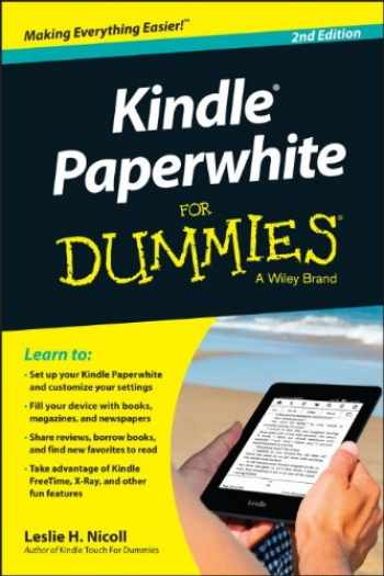9781118855324-1118855329-Kindle Paperwhite For Dummies