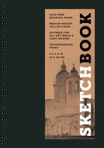 9781454909255-1454909250-Sketchbook (Basic Small Spiral Black) (Volume 5) (Sterling Sketchbooks)