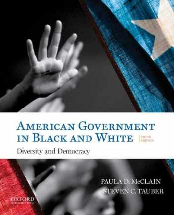9780190298791-0190298790-American Government in Black and White: Diversity and Democracy