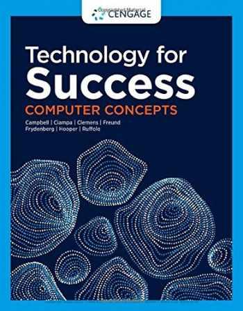 9780357124826-0357124820-Technology for Success: Computer Concepts (MindTap Course List)