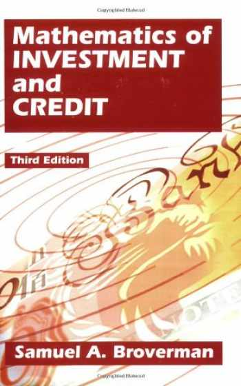 9781566984751-1566984750-Mathematics Of Investment And Credit