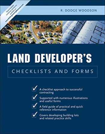 9780071441735-0071441735-Land Developer's Checklists and Forms