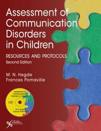 9781597564878-1597564877-Assessment of Communication Disorders in Children: Resources and Protocols