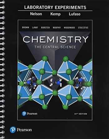 9780134566207-0134566203-Laboratory Experiments for Chemistry: The Central Science