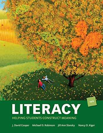 9781337538626-1337538620-Bundle: Literacy: Helping Students Construct Meaning, 10th + MindTap Education, 1 term (6 months) Printed Access Card