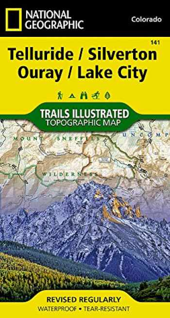 9781566953405-1566953405-Telluride, Silverton, Ouray, Lake City (National Geographic Trails Illustrated Map, 141)