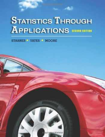 9781429219747-1429219742-Statistics Through Applications