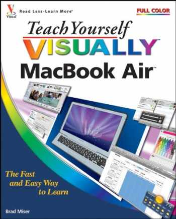 9780470376133-0470376139-Teach Yourself VISUALLY MacBook Air