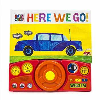 9781450851244-145085124X-World of Eric Carle, Here we Go Little Steering Wheel Sound Book - PI Kids (The World of Eric Carle)