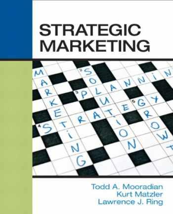 9780136028048-0136028047-Strategic Marketing