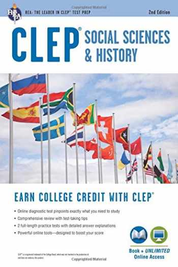 9780738612331-0738612332-CLEP® Social Sciences & History Book + Online, 2nd Ed. (CLEP Test Preparation)