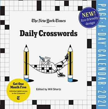 9781523511303-1523511303-The New York Times Daily Crosswords Page-A-Day Calendar for 2021