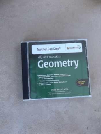 9780547710242-0547710240-Holt McDougal Geometry: Teacher's One Stop Planner DVD