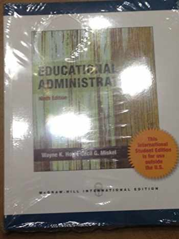 9781259012242-1259012247-Educational Administration Theory, Research, And Practice 9th Ed