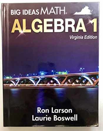 9781635981230-1635981239-Big Ideas Math, Algebra 1, Virginia edition.