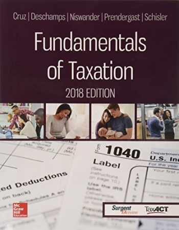 9781259713736-1259713733-Fundamentals of Taxation 2018 Ed