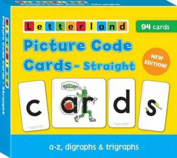 9781862091993-1862091994-Straight Picture Code Cards (Letterland)