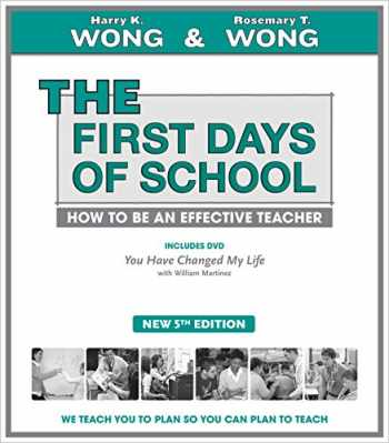 9780976423386-0976423383-THE First Days of School: How to Be an Effective Teacher (Book & DVD)