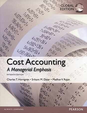 9781292018225-1292018224-Cost Accounting, Global Edition