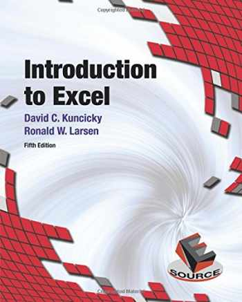 9780133083637-0133083632-Introduction to Excel (5th Edition)