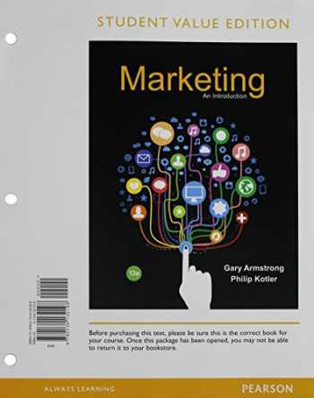 9780134132198-013413219X-Marketing: An Introduction, Student Value Edition