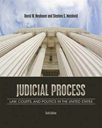 9781111357566-1111357560-Judicial Process: Law, Courts, and Politics in the United States