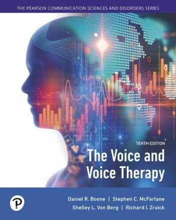 9780134894485-0134894480-The Voice and Voice Therapy