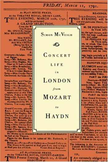 9780521413534-0521413532-Concert Life in London from Mozart to Haydn