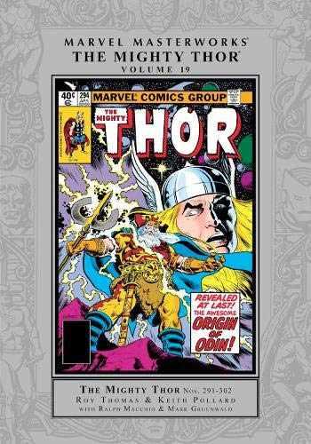 9781302922344-1302922343-Marvel Masterworks: Thor Vol. 19