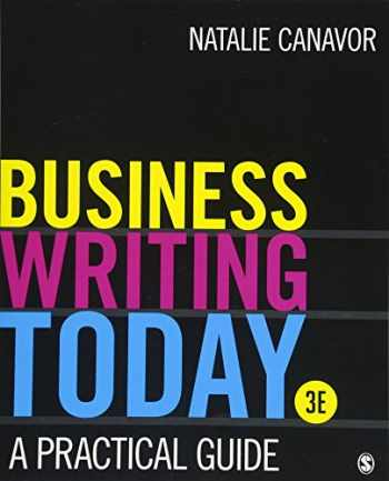 9781506388328-1506388329-Business Writing Today: A Practical Guide