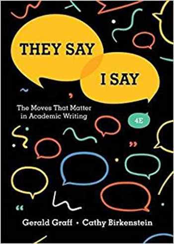 9780393631678-0393631672-They Say / I Say: The Moves That Matter in Academic Writing (Fourth Edition)