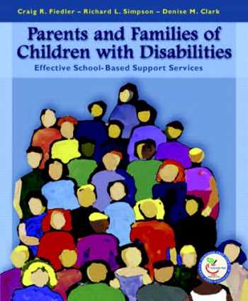 9780130194886-0130194883-Parents and Families of Children with Disabilities: Effective School-Based Support Services