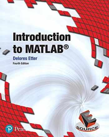9780134615288-013461528X-Introduction to MATLAB (4th Edition) (Introductory Engineering)