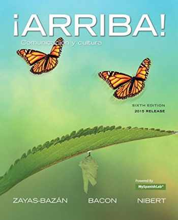 9780134064963-0134064968-¡Arriba!: comunicación y cultura, 2015 Release with MyLab Spanish -- Access Card Package (6th Edition)