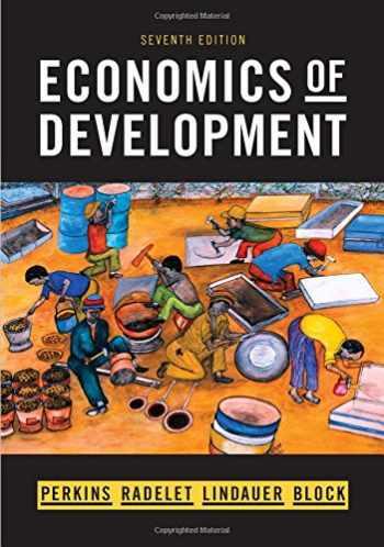 9780393934359-0393934357-Economics of Development (Seventh Edition)