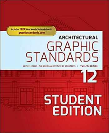 9781119312512-1119312515-Architectural Graphic Standards (Ramsey/Sleeper Architectural Graphic Standards Series)