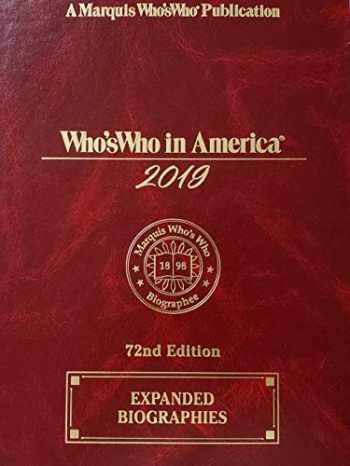 9780837970646-0837970644-Who's Who in America 2019