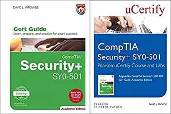 9780789759153-0789759152-CompTIA Security+ SY0-501 Pearson uCertify Course and Labs and Textbook Bundle (2nd Edition) (Certification Guide)