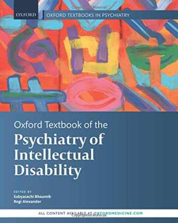 9780198794585-0198794584-Oxford Textbook of the Psychiatry of Intellectual Disability (Oxford Textbooks in Psychiatry)