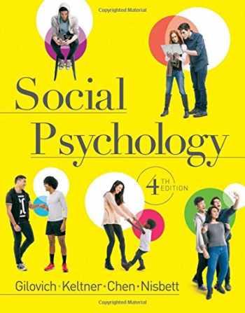 9780393938968-0393938964-Social Psychology (Fourth Edition)