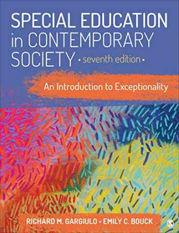 9781544373690-1544373694-Special Education in Contemporary Society: An Introduction to Exceptionality