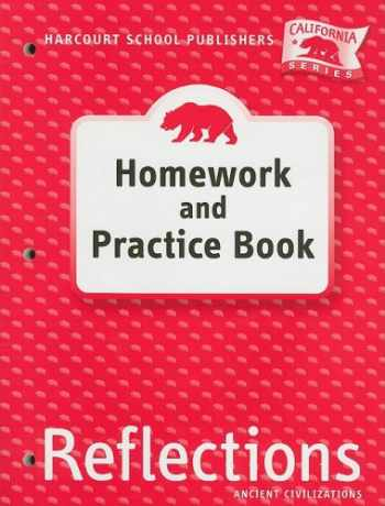 9780153414817-0153414812-Harcourt School Publishers Reflections: Homework & Practice Book Reflections 07 Grade 6