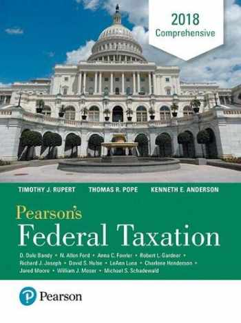 9780134532387-0134532384-Pearson's Federal Taxation 2018 Comprehensive (31st Edition)