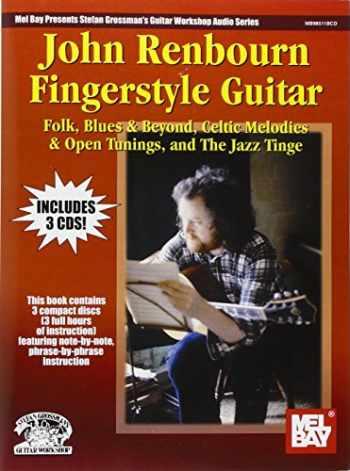 9780786650248-0786650249-John Renbourn Fingerstyle Guitar Book/3-CD set