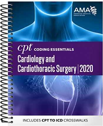 9781622029044-1622029046-CPT Coding Essentials for Cardiology and Cardiothoracic Surgery 2019