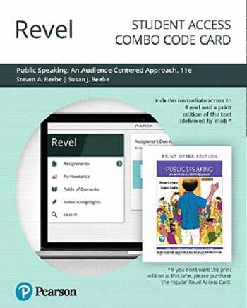 9780135704752-0135704758-Revel for Public Speaking: An Audience-Centered Approach -- Combo Access Card