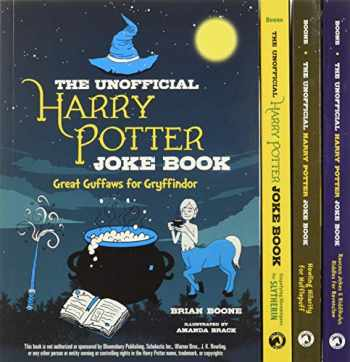 9781510748163-1510748164-The Unofficial Harry Potter Joke Book 4-Book Box Set: Includes Great Guffaws for Gryffindor, Stupefying Shenanigans for Slytherin, Howling Hilarity ... Jokes and Riddikulus Riddles for Ravenclaw!