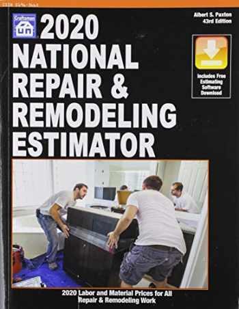 9781572183605-1572183608-2020 National Repair & Remodeling Estimator